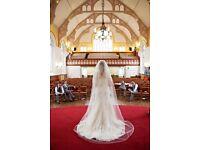 Mark Lesley wedding dress 7028
