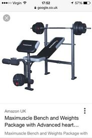 Maximuscle Training Bench
