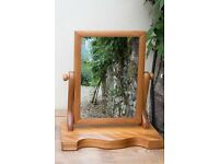 Restored Table Swing Mirror