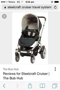 Steelcraft cruiser travel system Melton Melton Area Preview