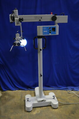 Carl Zeiss Opmi 111 On S21 Stand - Surgical Microscope 0-180 Dental Ent Serviced
