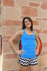 Lululemon Beaming Blue Cool Racer Back Tank!