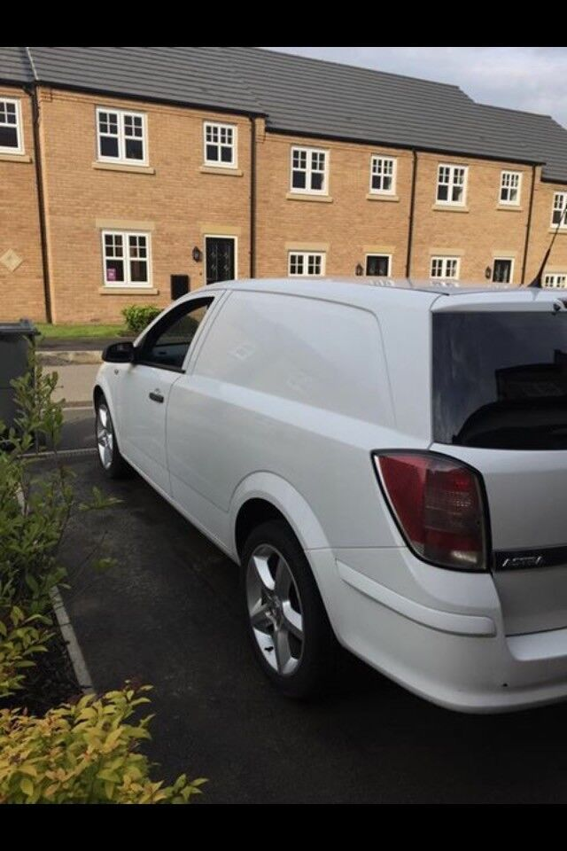Vauxhall AstraVan, 3 door, white, great van.