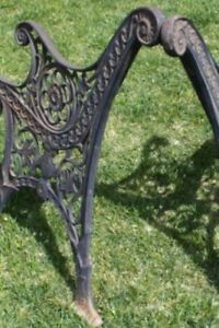 Wanted !!! CAST IRON BENCH ENDS