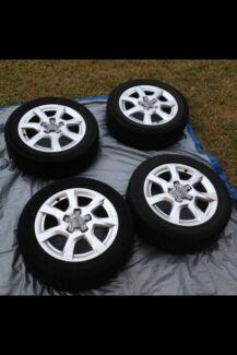 4 x 16'' Audi wheels Redbank Plains Ipswich City Preview