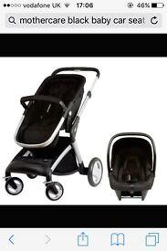 Baby car seat and pram