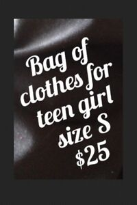 $25 for bag of clothes