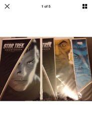 Star Trek countdown 1-4 IDW comics