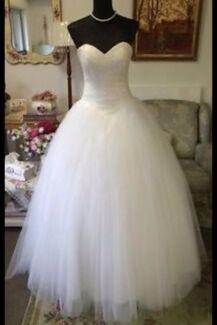 Deb or wedding crystal dress