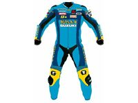 a range of one piece and two piece motorbike leather wear. made to customise. boots and gloves.