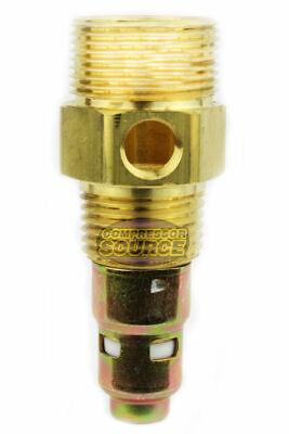 New Brass Air Compressor 12 Male Npt X 34 Compression In Tank Check Valve