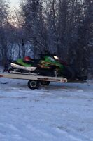 Atv-snowmobile trailer