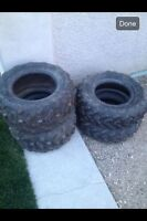 Yamaha Grizzly tires