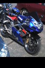 Suzuki GSXR 1000 swap for a car or $ 5500 Ono Summerhill Launceston Area Preview