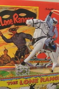 LONE RANGER MARX WIND-UP TIN LITHO TOY SCHYLLING VINTAGE  COLLECTIBLE.