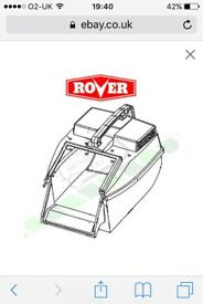 Rover lawnmore grassbox wanted
