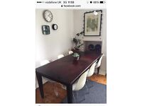 dining table and 6 Eames style chairs