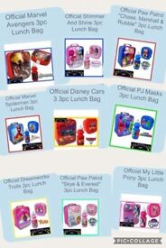 Kids 3PC Back To School Lunch Sets