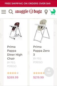 Peg perego prima pappa diner high chair Stratford Kitchener Area image 3
