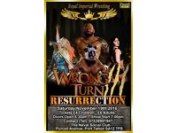 Royal Imperial Wrestling wrong turn 3 tickets