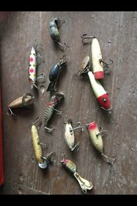 Wanted old/antique fishing lures