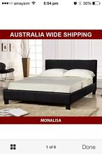 Queen bed with mattress Springfield Lakes Ipswich City Preview