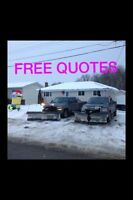 SnowPlowing OnCall Or Yearly Rates (Fully Insured)