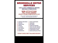 Recovery brownhills motor services