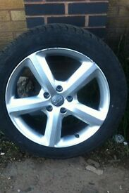 Audi q7 wheels and tyres