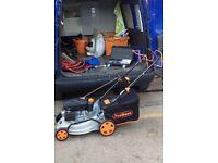 "Vonhaus 16"" 98cc self propelled petrol lawnmower"