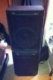 Peavey hisys 2 speakers