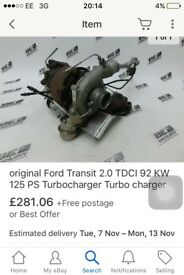 Ford transit 2.0 125 psi turbo