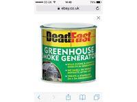 New Deadfast greenhouse smoke generator