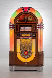 New Sound Leisure 1015 Standard Oak Jukebox