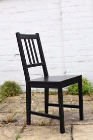 Dark brown dining chair for only £3