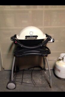 Weber q baby BBQ