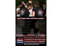 8 Week beginner Cuban Salsa course in Leicester
