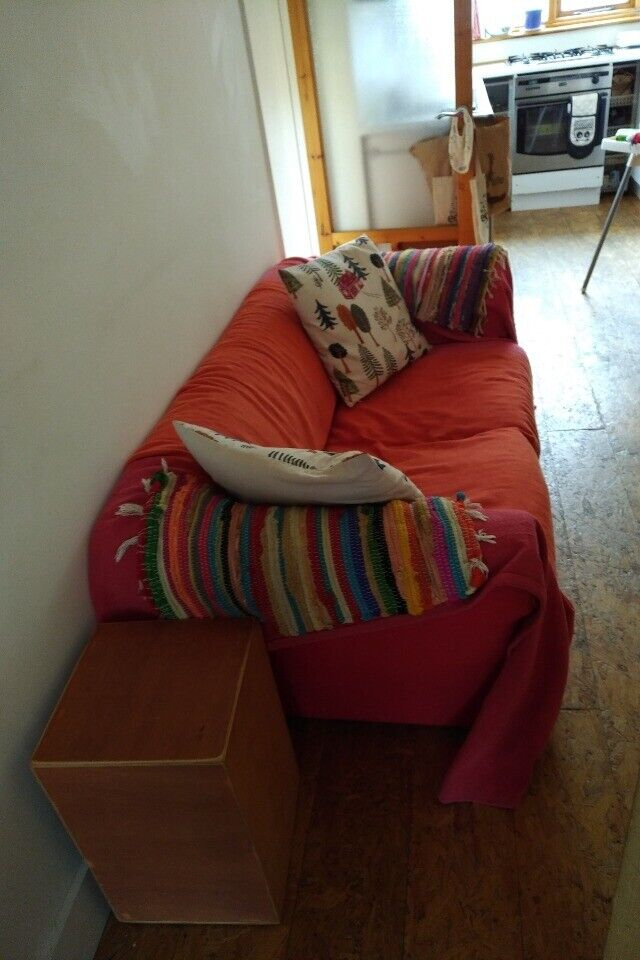 Red Sofa Bed In Newham London Gumtree