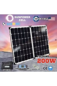 200w solar panel kit with bag reglator Anderson plug caravan Valley View Salisbury Area Preview