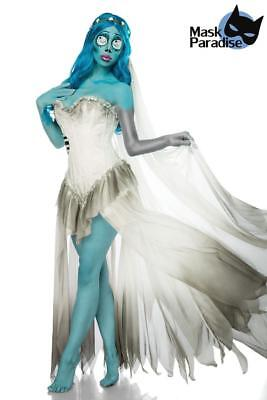 Skeleton Bride Kostüm traumhaftes Corpse Bride Kostüm Karneval - Kostüm Corpse Bride