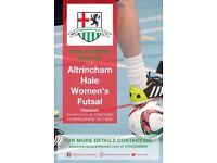 Female Futsal players wanted