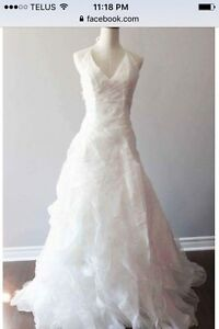Gorgeous designer wedding gown