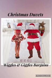 New Mr & Mrs Claus Duvet Sets