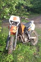 2002 ktm 400 exc. trade for 4x4