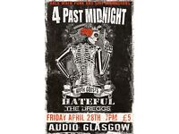 Punk Rock Night April 28th Audio Glasgow