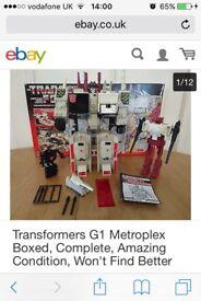 Transformers 1986 Metroplex