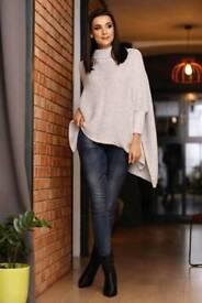 Woman warm sweater