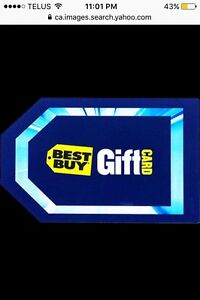 Best Buy Gift Card$1000