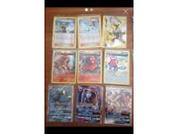 Pokemon cards ex GX holo