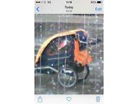 Double or single bike trailer for kids